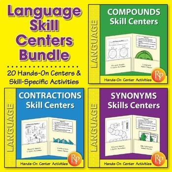 Language Skill Centers {Bundle}