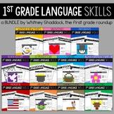 Grammar Worksheets for First Grade BUNDLE