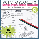 Language Skills Activity Booklets Bundle