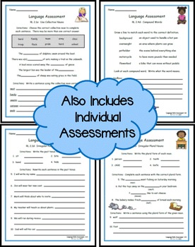 Language Skills Assessments 2nd Grade