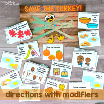 SAVE THE TURKEY Language Skills Game