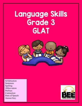Language Skills Grade 3  GLAT  with answers