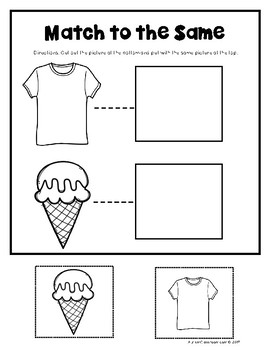 Language Skills Printables for Students with Autism & Similar Special Needs