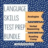 Language Skills Test Prep Bundle