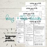 Language Skills Warm Up (Four Weeks)