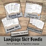 Language Skit Bundle- Figurative language & Parts of Speech