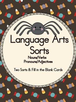Language Sorts - Halloween Theme