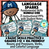 Language Sparks Bundle One!  Basic Language Skills!