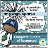 Language Sparks Complete Bundle of Resources!