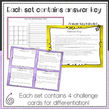 Language Standards Task Card Bundle 1