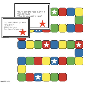 Pragmatic Skills and Expressive Language Practice Game for Speech Therapy
