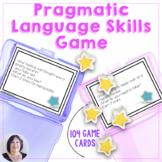 Pragmatic Skills and Expressive Language Activity for Spee
