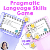 Pragmatic Skills and Expressive Language Practice Game for