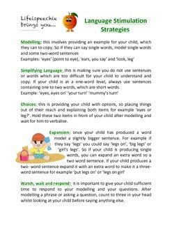 Language Stimulation Strategies