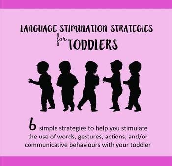 Language Stimulation Strategies for Toddlers - Parent Handout