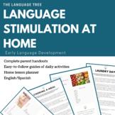 Language Stimulation at Home / Estimulación de lenguaje en el hogar