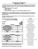 Language Study Cliche Assignment