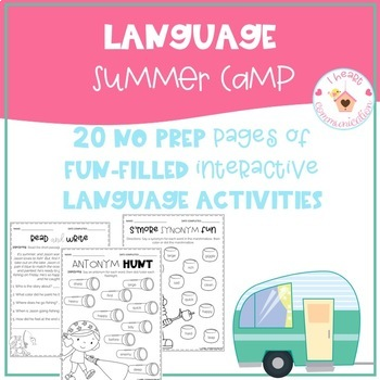 Language Summer Camp Pack