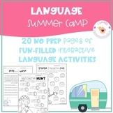 Language Summer Camp Pack