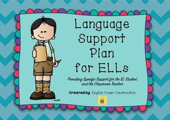Language Support Plan for ELLs