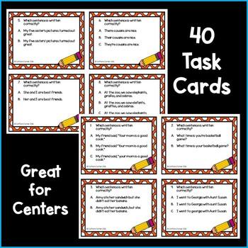 Language Task Cards