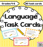 phonics and language task cards