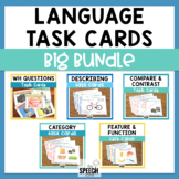 Language Task Cards Big Bundle