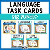 Language Task Cards Big Bundle