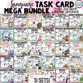 Language Task Cards Mega Bundle for Second Grade (Common C
