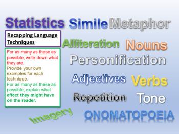 Language Techniques: AQA Language Paper 2