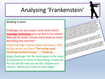 Language Techniques for Descriptive Writing