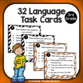 Language Test Prep Task Cards