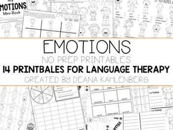 No Prep Language Therapy {BUNDLE PACK  #2}