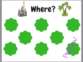 Language Therapy: Wh- Question (who, what, where, when, why,) Smash Mats