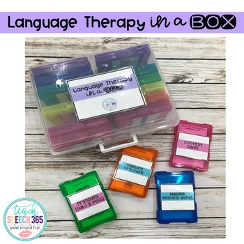 Language Therapy in a Box