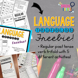 Language Trifold FREEBIE