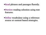 Language! Unit 8 Objectives