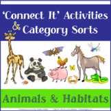 "Language Vocab Activities: Category Sorts & ""Connect It"" W"