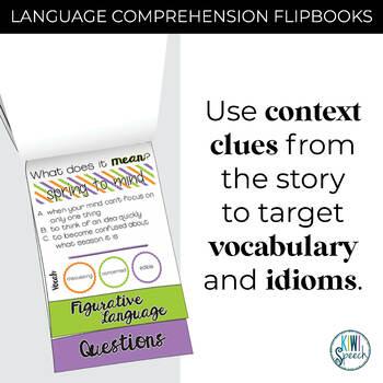Critical Thinking & Higher-Level Language Flip Books {SPRING}