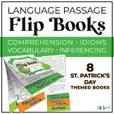 Critical Thinking & Higher Level Language Flip Books - St. Patrick's Day