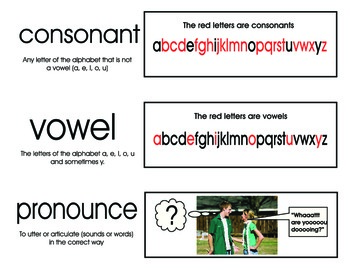 Language Vocabulary Picture Cards Set Two