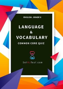 Language & Vocabulary Quiz
