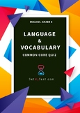 Language & Vocabulary Quiz