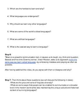Language Webquest