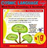 Etymology BUNDLE: Roots equ loc son phonos - Montessori El
