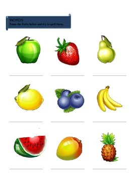 Language Workbook for Kindergarten