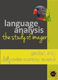 Language Analysis: Imagery Powerpoint Daily Review Exercises: weekly