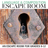 Language and Composition Escape Room