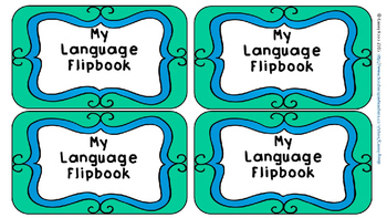 Language and Grammar Resource Flipbook