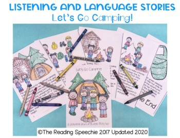 Language and Listening Stories: Let's Go Camping LOW PREP